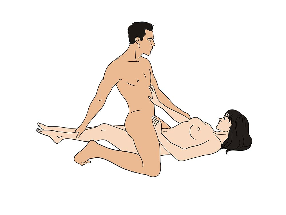 Working in the garden sex position