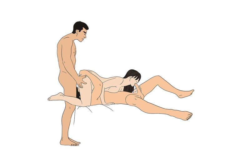 Sex positions for two men
